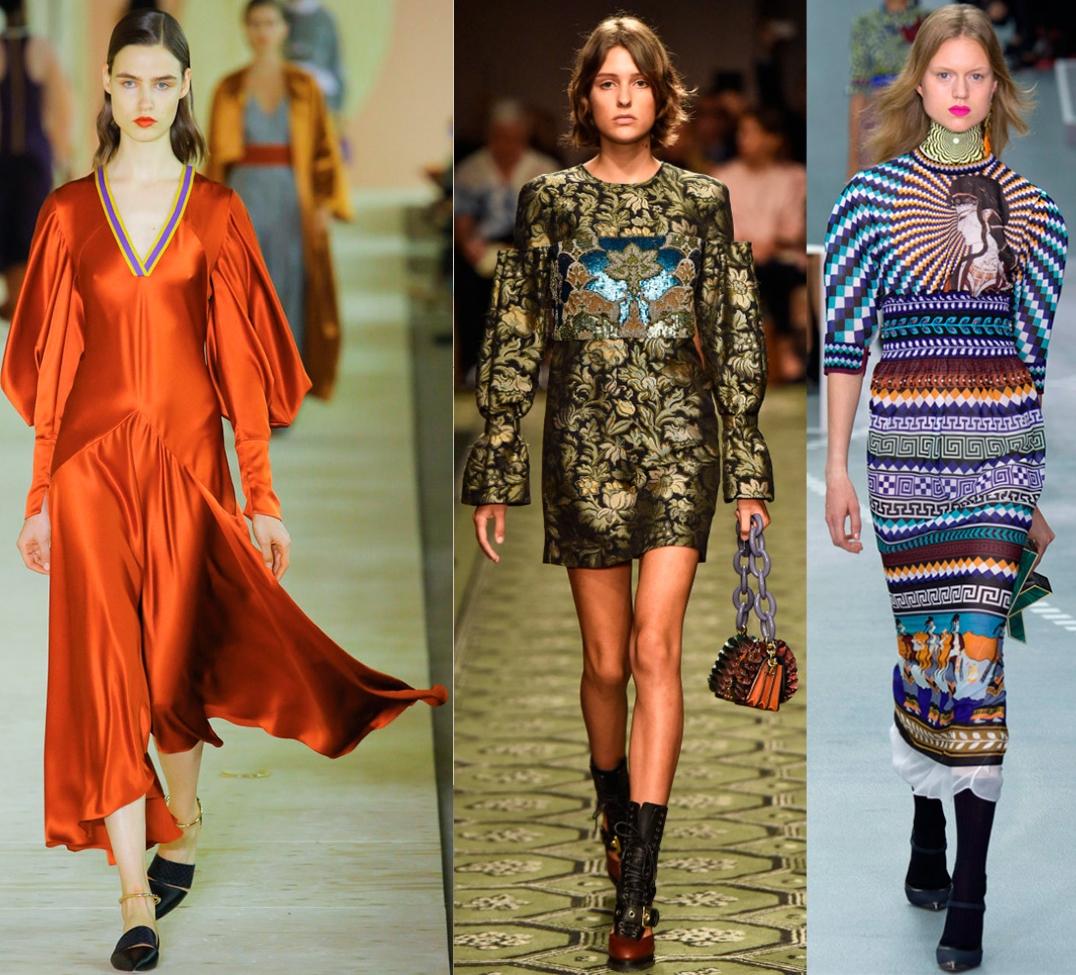 Платья модные в 2017 году фото не моделей а простых людей